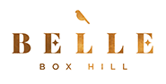 belle apartments logo